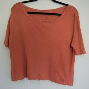 Free People Cropped Tee